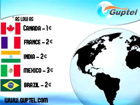 Guptel International Calling Company Commercial with RATES