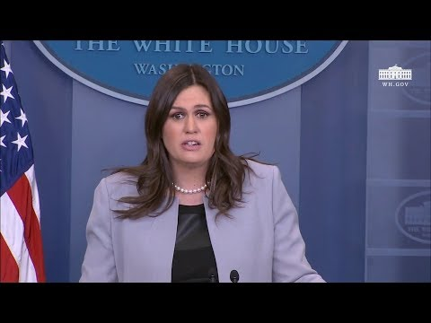 3/7/18: White House Press Briefing