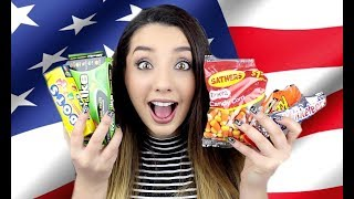 British Girl Tries American Candy Part 2! | ThoseRosieDays