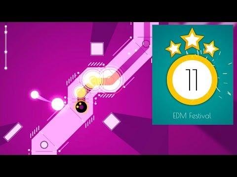 Dancing Ballz: Color Line - EDM Festival (97% Perfect 3/3 Stars)   SHA