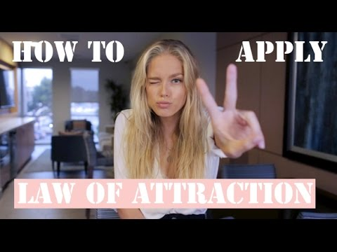 How to Use the Law of Attraction | Cornelia