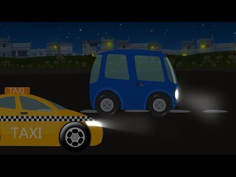 Van | Car Garage | Toy Video for Children & Preschoolers
