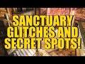 Borderlands 2: Sanctuary Glitches and Secret Spots! (Under Map, Hidden Chest, Secret Rooms!)