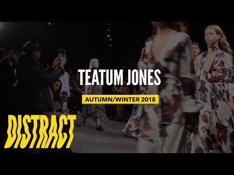 Teatum Jones talk diversity in Fashion & Trends at LFW18 Show