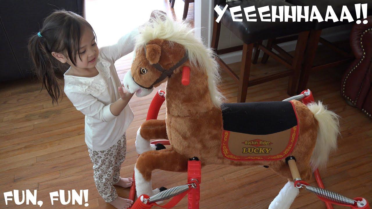 Horse Ride For Kids: Hulyan & Maya\'s Rockin\' Rider Lucky the Little ...