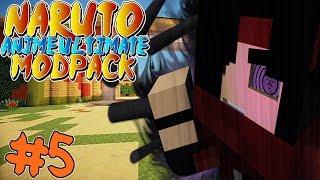 AWAKEN SHARINGAN! || Naruto Anime Ultimate Modpack Episode 5 (Minecraft Naruto Anime Mod)