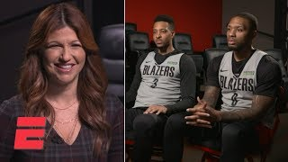 Damian Lillard, CJ McCollum talk playoff approach with Rachel Nichols | ESPN