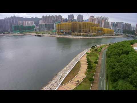 天鴿10號風暴後的將軍澳海濱公園 24-8-2017 Aerial Filming 4K Hong Kong ... | Doovi