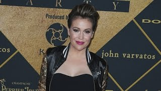 EXCLUSIVE: Alyssa Milano on Dressing For Body After Baby, What Makes Her Most Confident