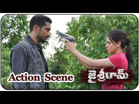 Jai Sriram Movie || Uday Kiran Saves Reshma From Aditya Menon's Gang