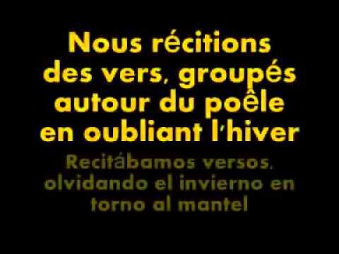 Charles Aznavour  La bohème  Letra original y traducci n al espa ol   YouTube