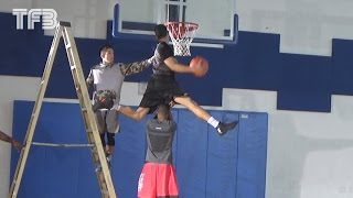 INSANE DUNK Session - CJ Champion, Guy Dupuy, Doug Anderson, Isaiah Rivera Video