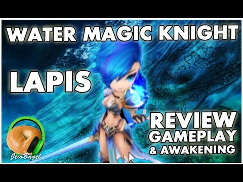 SUMMONERS WAR : Lapis the Water Magic Knight - First Look Review, Gameplay, and Awakening