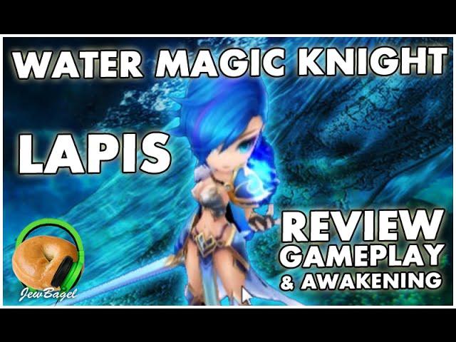 water magic knight lapis summoners war runes and guide