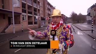 Optocht Kielegat (Breda) valt ondanks regen niet in het water: 'We laten ons niet wegjagen'