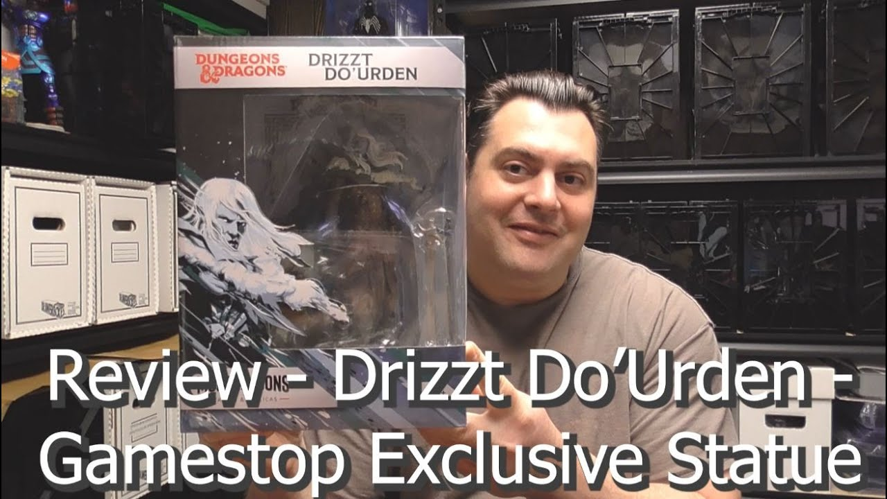 Review - Drizzt Do'Urden - Gamestop Exclusive Statue