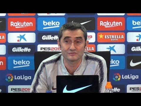 afpes: Valverde respalda a Suarez en sequía goleadora