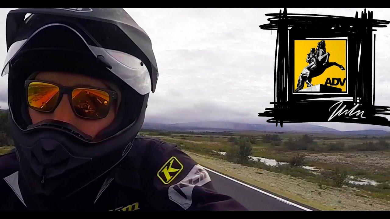 Moottoripyörällä Pohjois Norjaan