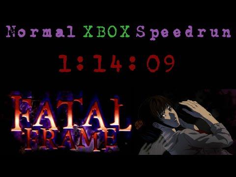 Fatal Frame Normal Speedrun (Xbox) - [1:14:09] (Livestream Commentary)