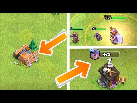 Thumbnail: NEW SHRINK TRAP - WITCH BUILDER & MORE!! | Clash of clans |