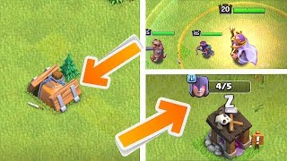 NEW SHRINK TRAP - WITCH BUILDER & MORE!! | Clash of clans |