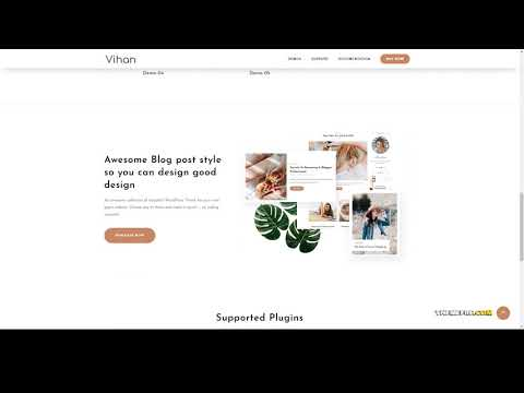 Mira Personal And Travel WordPress Blog Theme