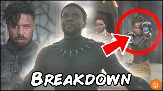 Black Panther Teaser Trailer Breakdown & Everything You Need to Know!