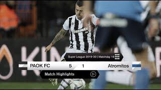 Τα στιγμιότυπα του ΠΑΟΚ-Ατρόμητος - PAOK TV