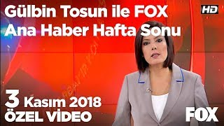 Şehir magandaları minibüs şoförüne saldırdı! 3 Kasım 2018 Gülbin Tosun ile FOX Ana Haber Hafta Sonu