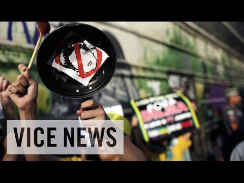 VICE News Daily: Protests Seek Ouster of Brazil President Dilma Rousseff