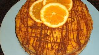 Easy Orange Cheesecake