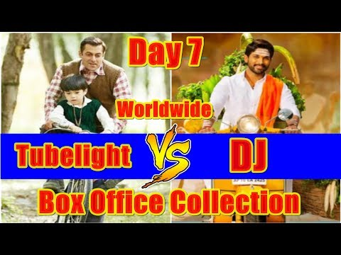 Tubelight Vs DJ Worldwide Box Office Collection Day 7