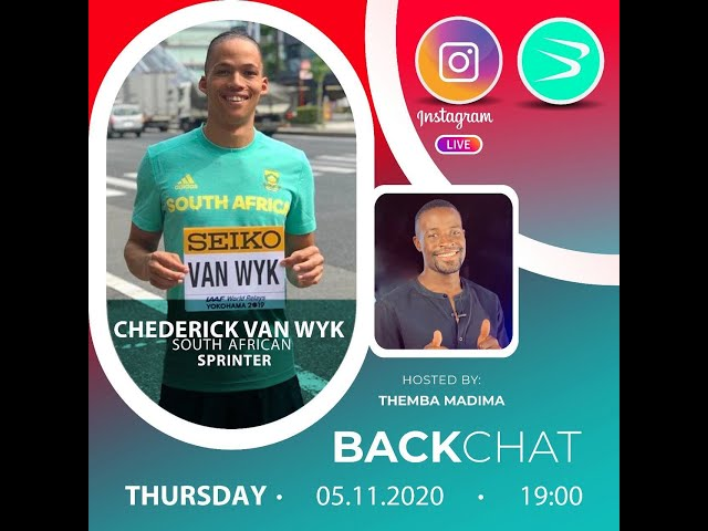 BackChat ep73 with Chederick van Wyk