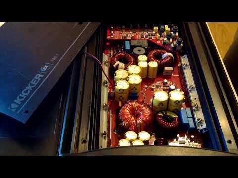 inside kicker zx750 1 750w rms class d monoblock zx series amplifier -  youtube