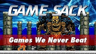 Games We Never Beat - Game Sack