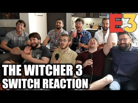 REACTION: THE WITCHER 3 ON SWITCH! - Nintendo Direct E3 2019