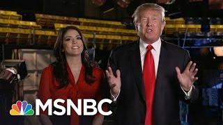 Anti-Trump Protests Reach Saturday Night Live | Rachel Maddow | MSNBC