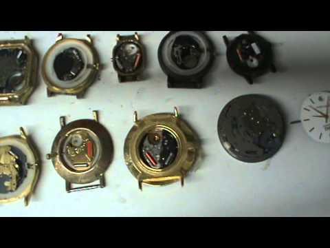 Desarme y armado de reloj de pila parte 1 youtube - Reloj de pared original ...