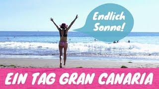 ENDLICH SONNE 🌞 Ein Tag auf Gran Canaria mit Sonja Neuroth 🏖🌞