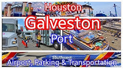 Galveston Cruise Port | Terminal Parking | Houston IAH / Hobby Airports | Carnival Shuttle to Port