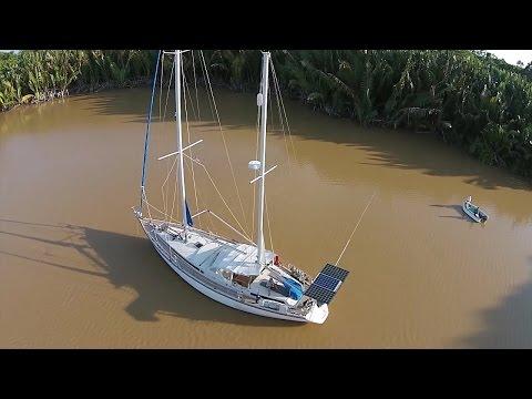 Tour Our Amazing Sailboat- Sailing SV Delos