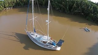 Tour Our Amazing Sailboat- Sailing SV Delos