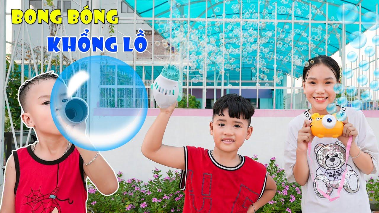 Download Máy Thổi Bong Bóng Nhiều Tiền Và Máy Thổi Bong Bóng Tự Chế ♥ Min Min TV Minh Khoa
