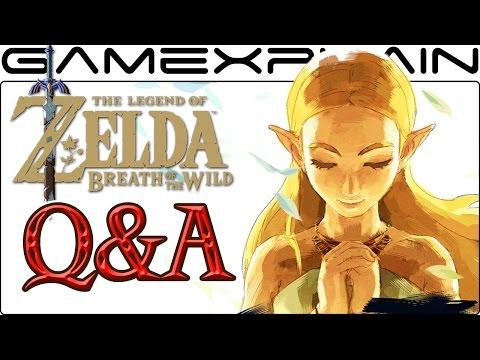 Zelda: Breath of the Wild LIVE Q&A Livestream