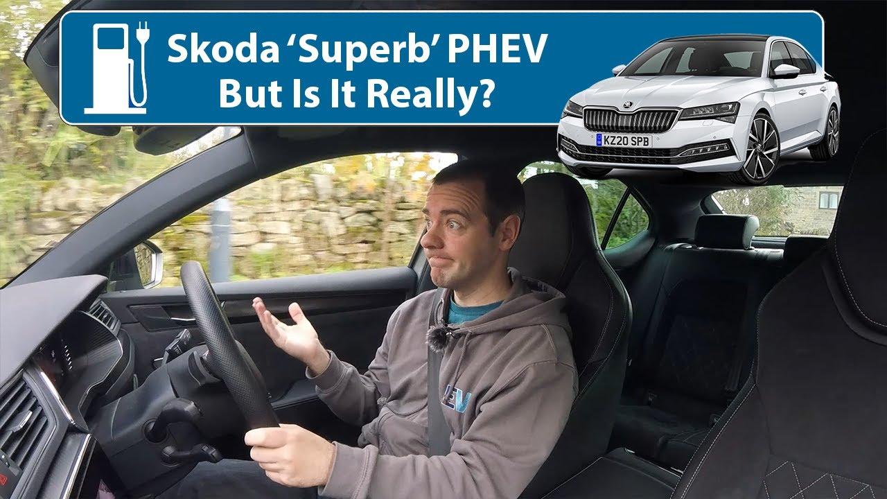 Skoda Superb 2020 Plug-In Hybrid - But Is It Really?