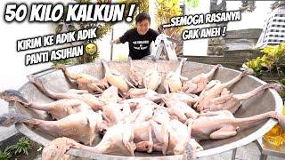 Download lagu MEMASAK KALKUN PULUHAN EKOR KIRIM KE PANTI ASUHAN. SEMOGA ENAK YA.