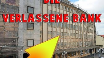 Noch Besucht?! Die Verlassene Bank | Dark Zone | Lost Place Saarland