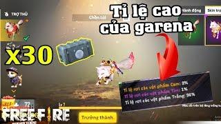 [Free Fire] Bóc Phốt Garena Khi Mở X30 Hòm Pet Hồ Ly Với Tỉ Lệ 4%   Meow DGame
