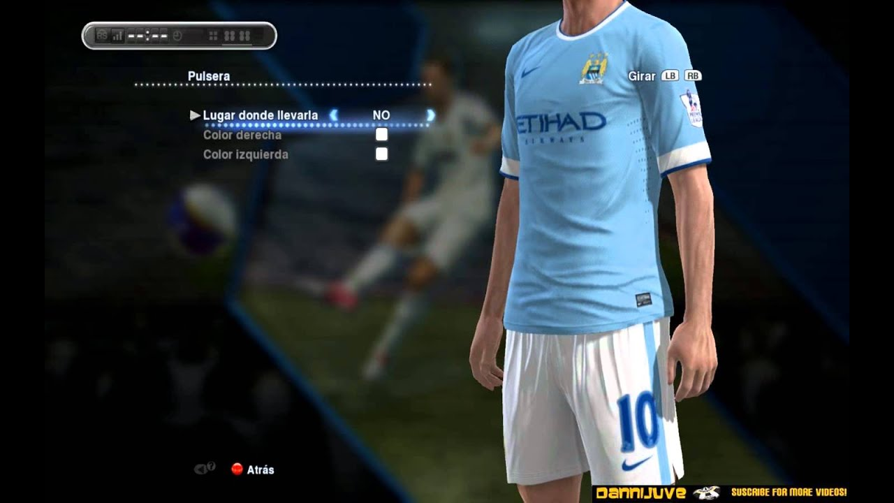 camiseta manchester city pes 2015 ps3