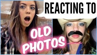 Claudia'sLife: REACTING TO FACEBOOK PHOTOS Thumbnail
